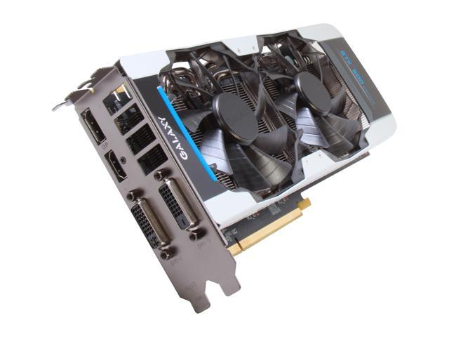 Galaxy GeForce GTX 660 Ti DirectX 11 66NNH7DV6WXZ Video Card