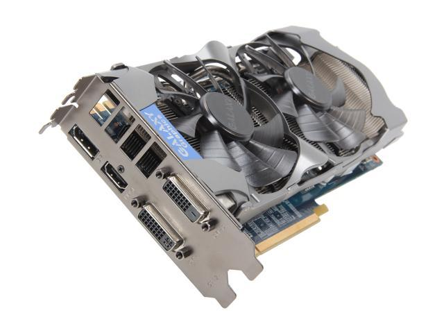 Galaxy 66NPH7DV6VXZ GeForce GTX 660 Ti GC 2GB 192-bit GDDR5 PCI Express 3.0 x16 HDCP Ready SLI Support Video Card