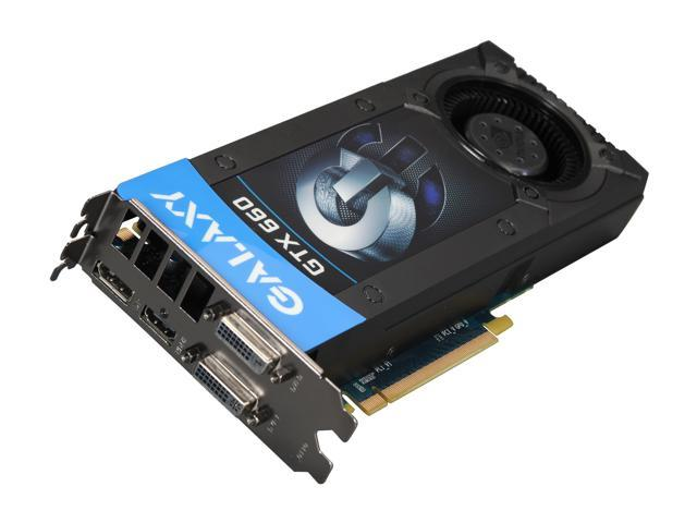 Galaxy GeForce GTX 660 DirectX 11 66NPH7DN7DXZ 2GB 192-Bit GDDR5 PCI Express 3.0 x16 HDCP Ready SLI Support Video Card