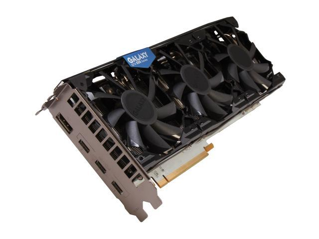 Galaxy 68NPH6DT6ENZ GeForce GTX 680 GC White Edition 2GB 256-bit GDDR5 PCI Express 3.0 x16 HDCP Ready SLI Support Video Card