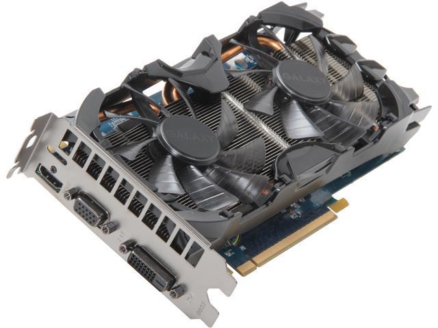 Galaxy GeForce GTX 650 Ti BOOST DirectX 11 65IGH7HX7CNH 1GB 192-Bit GDDR5 PCI Express 3.0 x16 SLI Support Video Card