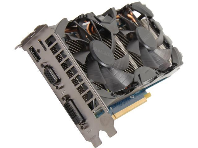 Galaxy GeForce GTX 650 Ti BOOST DirectX 11 65IPH7HX7CNH 2GB 192-Bit GDDR5 PCI Express 3.0 x16 SLI Support Video Card
