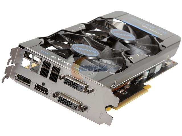 Galaxy 77XPH6DV6KXZ G-SYNC Support GeForce GTX 770 GC 2GB 256-bit GDDR5 PCI Express 3.0 SLI Support Video Card