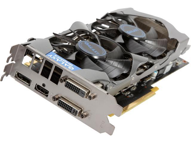 Galaxy 76XPH6DV6KKZ G-SYNC Support GeForce GTX 760 GC 2GB 256-bit GDDR5 PCI Express 3.0 SLI Support Video Card