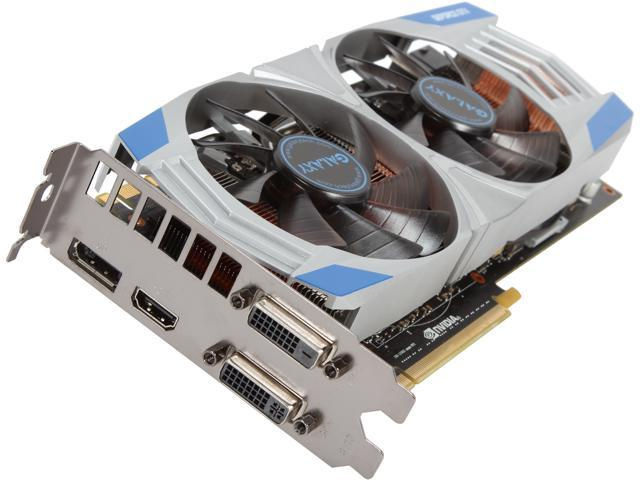Galaxy 78XNH5DN8MSU G-SYNC Support GeForce GTX 780 GC 3GB 384-bit GDDR5 PCI Express 3.0 SLI Support Video Card