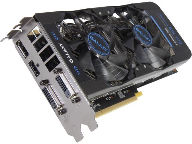 Galaxy 77NQH7DV8NKV G-SYNC Support GeForce GTX 770 GC 4GB 256-bit GDDR5 PCI Express 3.0 SLI Support Video Card