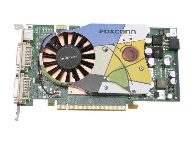 Foxconn FV-N79SM2D2-OC GeForce 7900GS 256MB 256-bit GDDR3 PCI Express x16 SLI Support Video Card