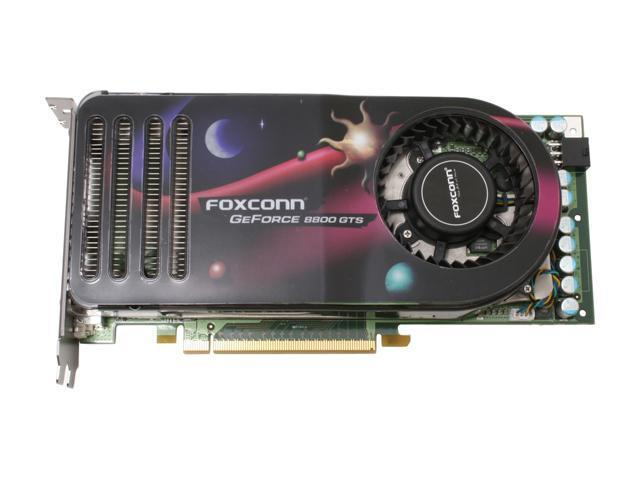 Foxconn FV-N88SMBD2-ONOC GeForce 8800 GTS 640MB 320-bit GDDR3 PCI Express x16 HDCP Ready SLI Support Video Card