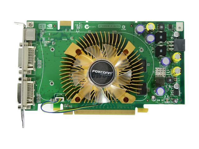 Foxconn 8600GTS-256 GeForce 8600 GTS 256MB 128-bit GDDR3 PCI Express x16 HDCP Ready SLI Support Video Card