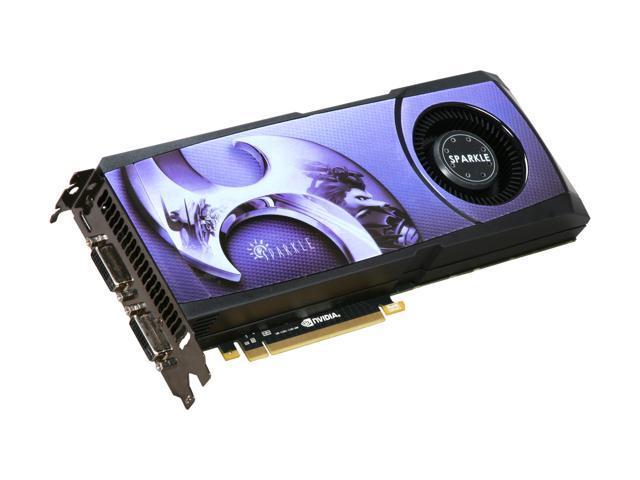 SPARKLE 700015 GeForce GTX 580 (Fermi) 1536MB 384-bit GDDR5 PCI Express 2.0 x16 HDCP Ready SLI Support Video Card