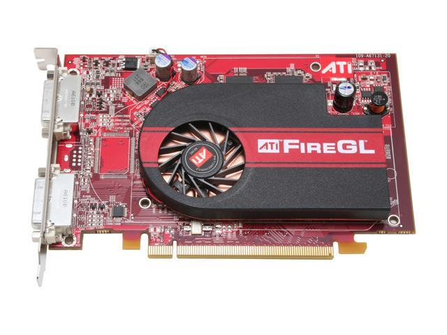 ATI 100-505136 FireGL V3400 128MB 128-bit GDDR3 PCI Express x16 Workstation Video Card