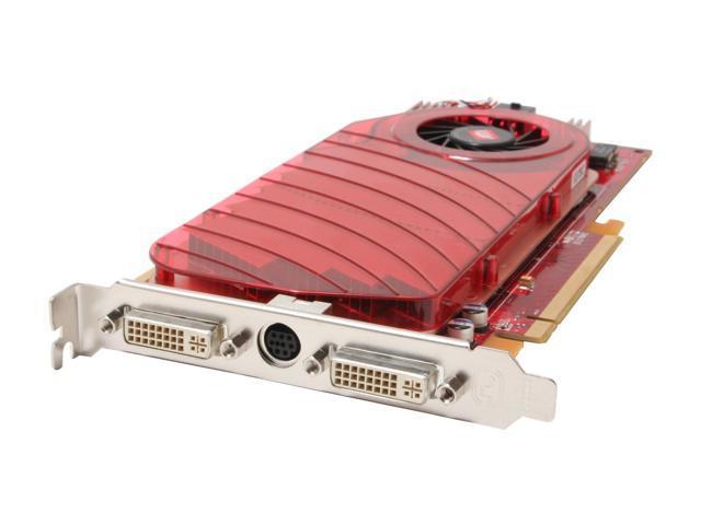 ATI 100-437807 Radeon X1950PRO 256MB 256-bit GDDR3 PCI Express x16 HDCP Ready CrossFireX Support Video Card
