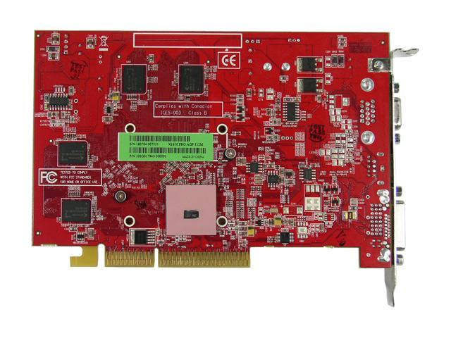 ATI 100-437809 Radeon X1650PRO 512MB 128-bit GDDR2 AGP 4X/8X Video Card