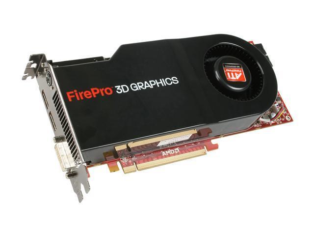 ATI 100-505558 FirePro V8700 1GB GDDR5 PCI Express 2.0 x16 Workstation Graphics Accelerator - OEM