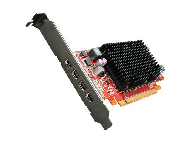 AMD FirePro 2460 100-505850 512MB GDDR5 Quad Mini DisplayPort PCI-Express Workstation Video Card