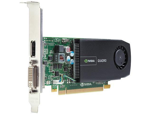 HP Quadro 410 A7U60AT 512MB 64-bit DDR3 PCI Express 2.0 x16 Workstation Video Card