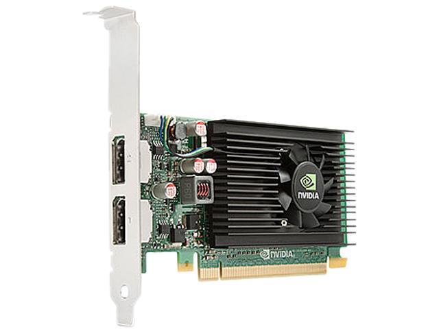 HP Quadro NVS 310 A7U59AT 512MB DDR3 PCI Express 2.0 x16 Low Profile Graphics Card