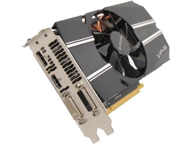 SAPPHIRE Radeon HD 7790 DirectX 11 100356-2GOCL OC Video Card