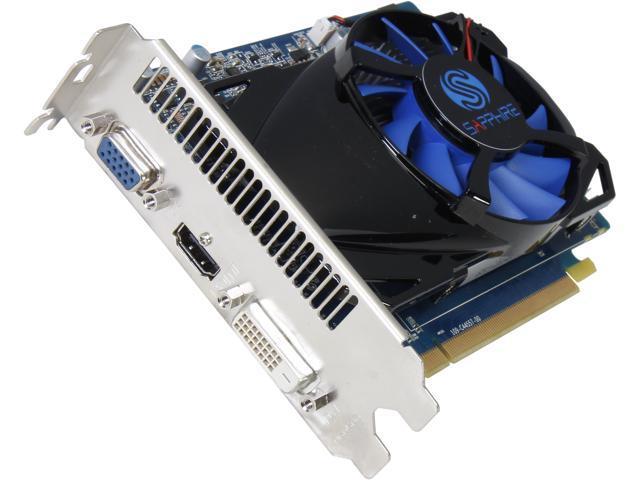 SAPPHIRE Radeon HD 7730 DirectX 11 100359-2GL 2GB 128-Bit DDR3 PCI Express 3.0 CrossFireX Support Video Card(UEFI)