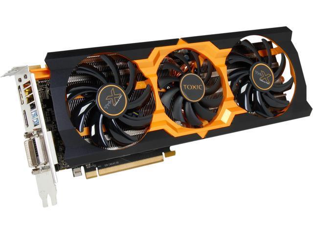 SAPPHIRE Radeon R9 270X DirectX 11.2 100364TXSR 2GB 256-Bit GDDR5 PCI Express 3.0 x16 HDCP Ready CrossFireX Support Video Card