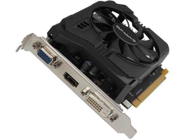 SAPPHIRE Radeon R7 250 DirectX 11.2 100368-2GL 2GB 128-Bit DDR3 PCI Express 3.0 CrossFireX Support Video Card