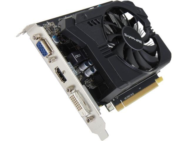 SAPPHIRE Radeon R7 250 DirectX 11.2 100368L 1GB 128-Bit GDDR5 PCI Express 3.0 CrossFireX Support Video Card