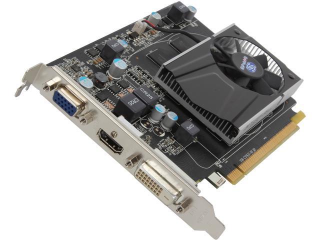 SAPPHIRE Radeon R7 240 DirectX 11.2 100369DDR5L 1GB 128-Bit GDDR5 CrossFireX Support Video Card