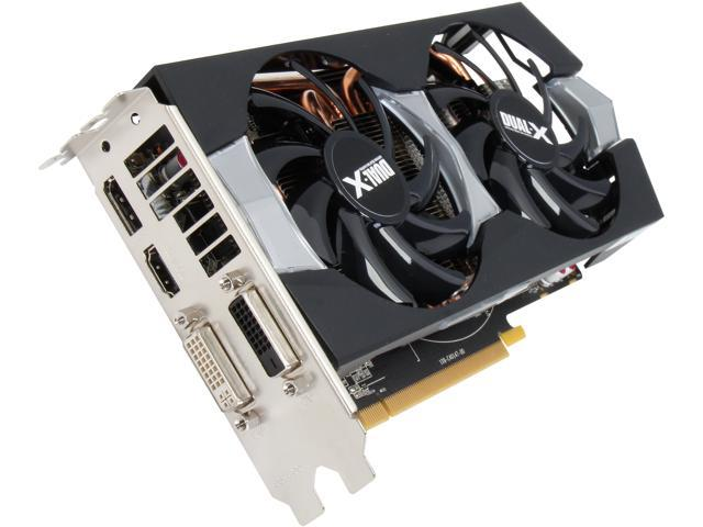 SAPPHIRE DUAL-X Radeon R9 270X DirectX 11.2 100364BF4L 2GB 256-Bit GDDR5 PCI Express 3.0 CrossFireX Support Video Card