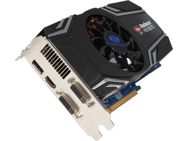 SAPPHIRE Radeon HD 6870 DirectX 11 11179-09-CPO Video Card