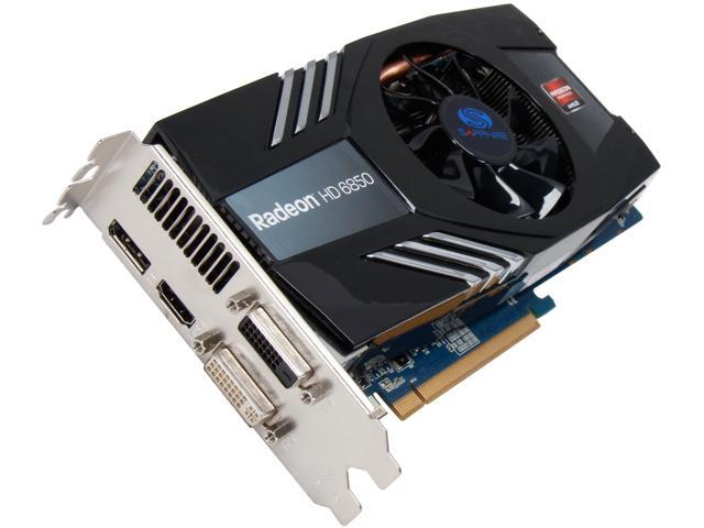 SAPPHIRE Radeon HD 6850 DirectX 11 11180-00-CPO 1GB 256-Bit GDDR5 PCI Express 2.0 CrossFireX Support Video Card