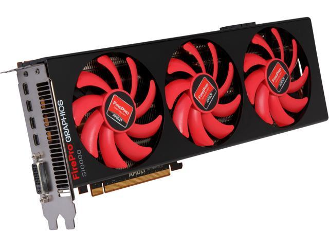 AMD Radeon HD 7990 DirectX 11.1 31004-39-22A Video Card - OEM