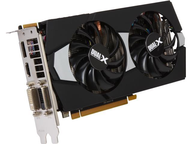 SAPPHIRE DUAL-X Radeon R7 265 DirectX 11.2 100370L 2GB 256-Bit GDDR5 PCI Express 3.0 CrossFireX Support Video Card