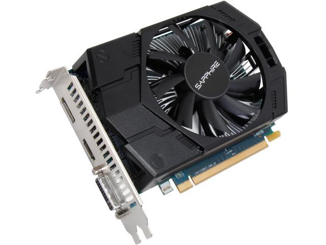 SAPPHIRE Radeon R7 250X DirectX 11 100367L 1GB 128-Bit GDDR5 PCI Express 3.0 CrossFireX Support Video Card