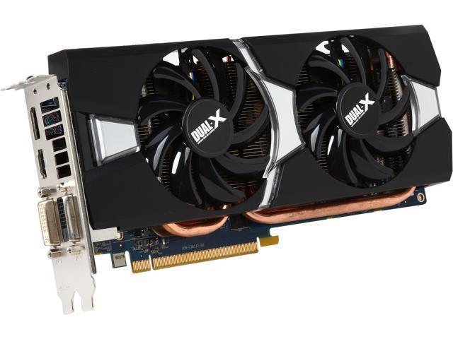 SAPPHIRE DUAL-X Radeon R9 280 DirectX 11.2 100373L 3GB 384-Bit GDDR5 PCI Express 3.0 CrossFireX Support Video Card