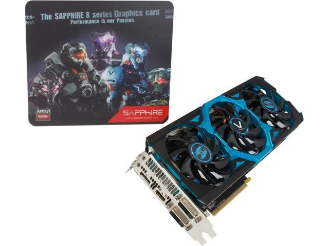SAPPHIRE VAPOR-X Radeon R9 290X DirectX 11.2 100361VXSR 4GB 512-Bit GDDR5 PCI Express 3.0 CrossFireX Support Video Card