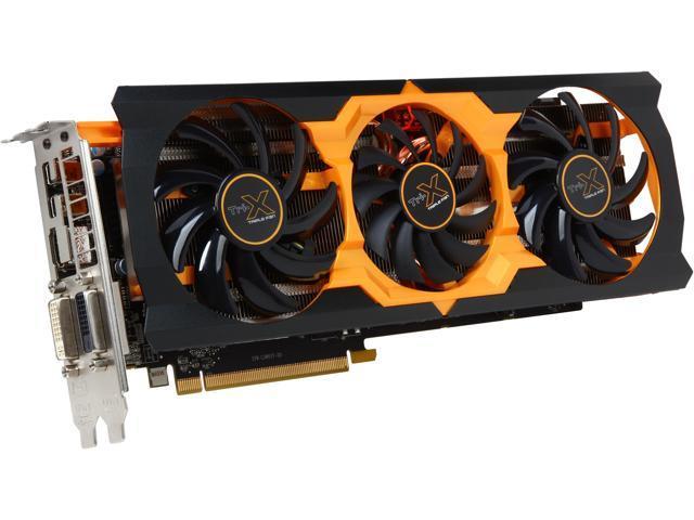 SAPPHIRE TRI-X Radeon R9 280X DirectX 11.2 100363-2SR 3GB 384-Bit GDDR5 PCI Express 3.0 CrossFireX Support Video Card OC (UEFI)