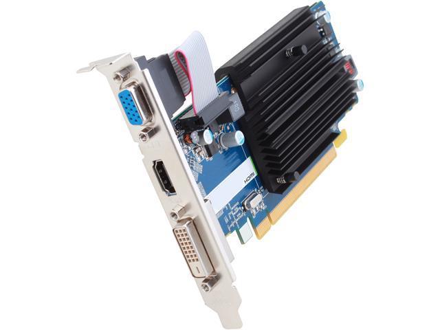 SAPPHIRE Radeon R5 230 DirectX 11 100372-2GL 2GB 64-Bit DDR3 PCI Express 2.1 CrossFireX Support Video Card