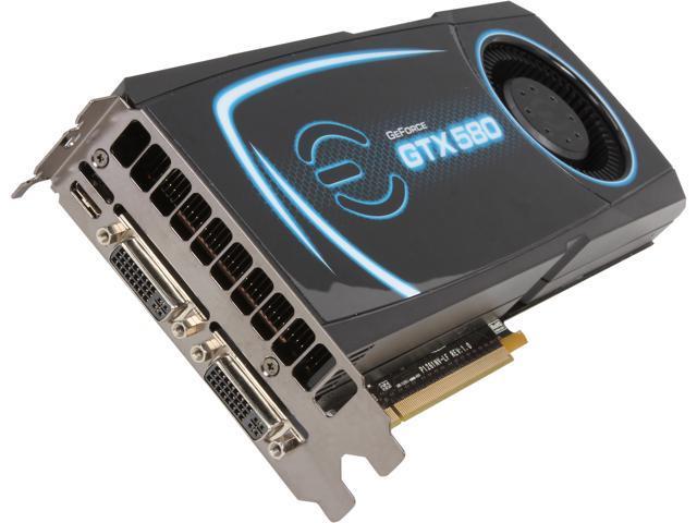 EVGA GeForce GTX 580 (Fermi) 03G-P3-1584-RB Video Card