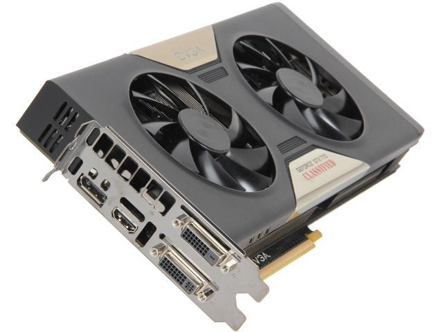 EVGA GeForce GTX 770 DirectX 11.1 04G-P4-3778-RX Dual Classified with EVGA ACX Cooler Video Card