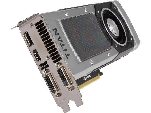 EVGA GeForce GTX TITAN BLACK DirectX 11.2 06G-P4-3790-KR Video Card
