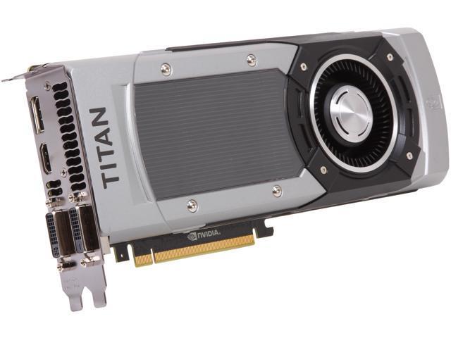 EVGA GeForce GTX TITAN BLACK Superclocked DirectX 11.2 06G-P4-3793-KR Video Card