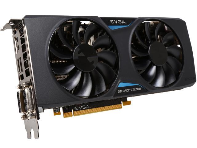 EVGA GeForce GTX 970 04G-P4-2978-KR 4GB FTW GAMING w/ACX 2.0, Silent Cooling Graphics Card - Newegg.com