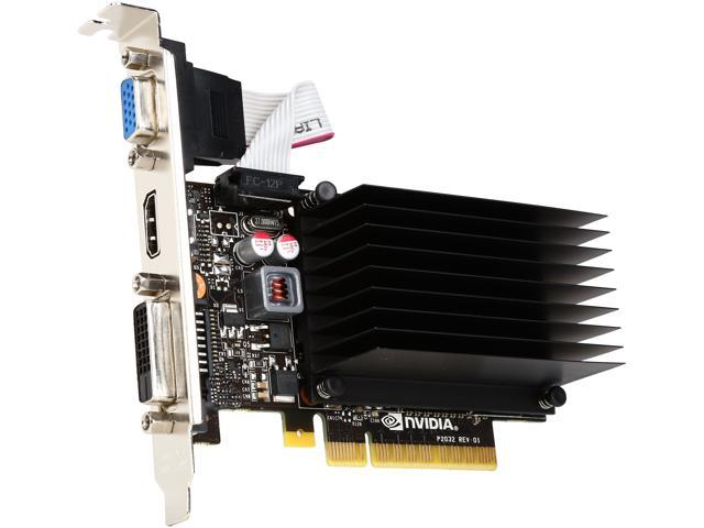 EVGA GeForce GT 730 DirectX 12 01G-P3-1731-KR Low Profile Ready Video Card