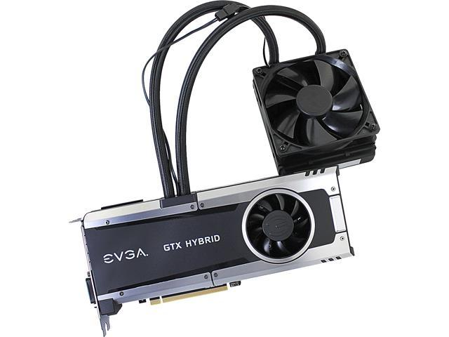 """EVGA GeForce GTX 980 Ti 06G-P4-1996-KR 6GB HYBRID GAMING, """"All in One"""" No Hassle Water Cooling, Just Plug and Play Graphics ..."""