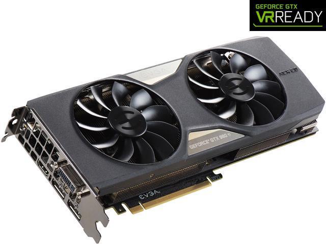 EVGA GeForce GTX 980 Ti DirectX 12 06G-P4-3996-KR VR EDITION GAMING ACX 2.0+ Video Card