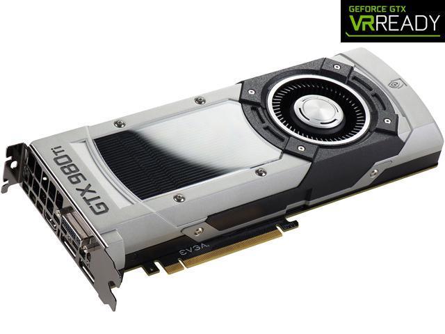 EVGA GeForce GTX 980 Ti DirectX 12 06G-P4-3998-KR VR EDITION GAMING Video Card