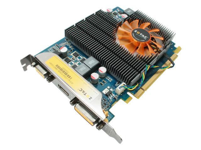 ZOTAC ZT-20403-10L GeForce GT 240 512MB 128-bit DDR3 PCI Express 2.0 x16 HDCP Ready Video Card
