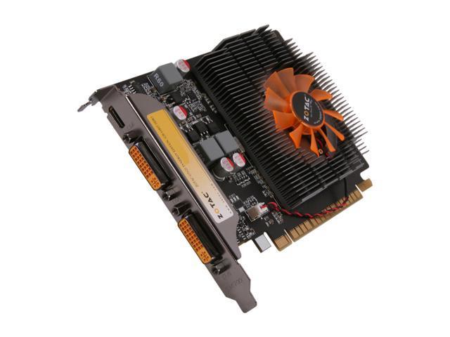 ZOTAC ZT-60502-10L GeForce GT 620 Synergy Edition 1GB 64-bit DDR3 PCI Express 2.0 x16 HDCP Ready  Video Card
