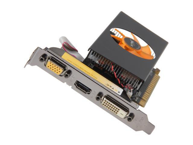 ZOTAC GT 600 GeForce GT 640 DirectX 11 ZT-60203-10L 2GB 128-Bit DDR3 PCI Express 3.0 x16 HDCP Ready Low Profile Ready Video Card