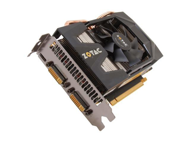 ZOTAC GTX 500 GeForce GTX 570 (Fermi) DirectX 11 ZT-50206-10M 1280MB 320-Bit GDDR5 PCI Express 2.0 x16 HDCP Ready SLI Support Plug-in Card Video Card